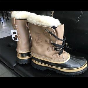 Sorel Caribou Kaufman Boots Men's sz 10